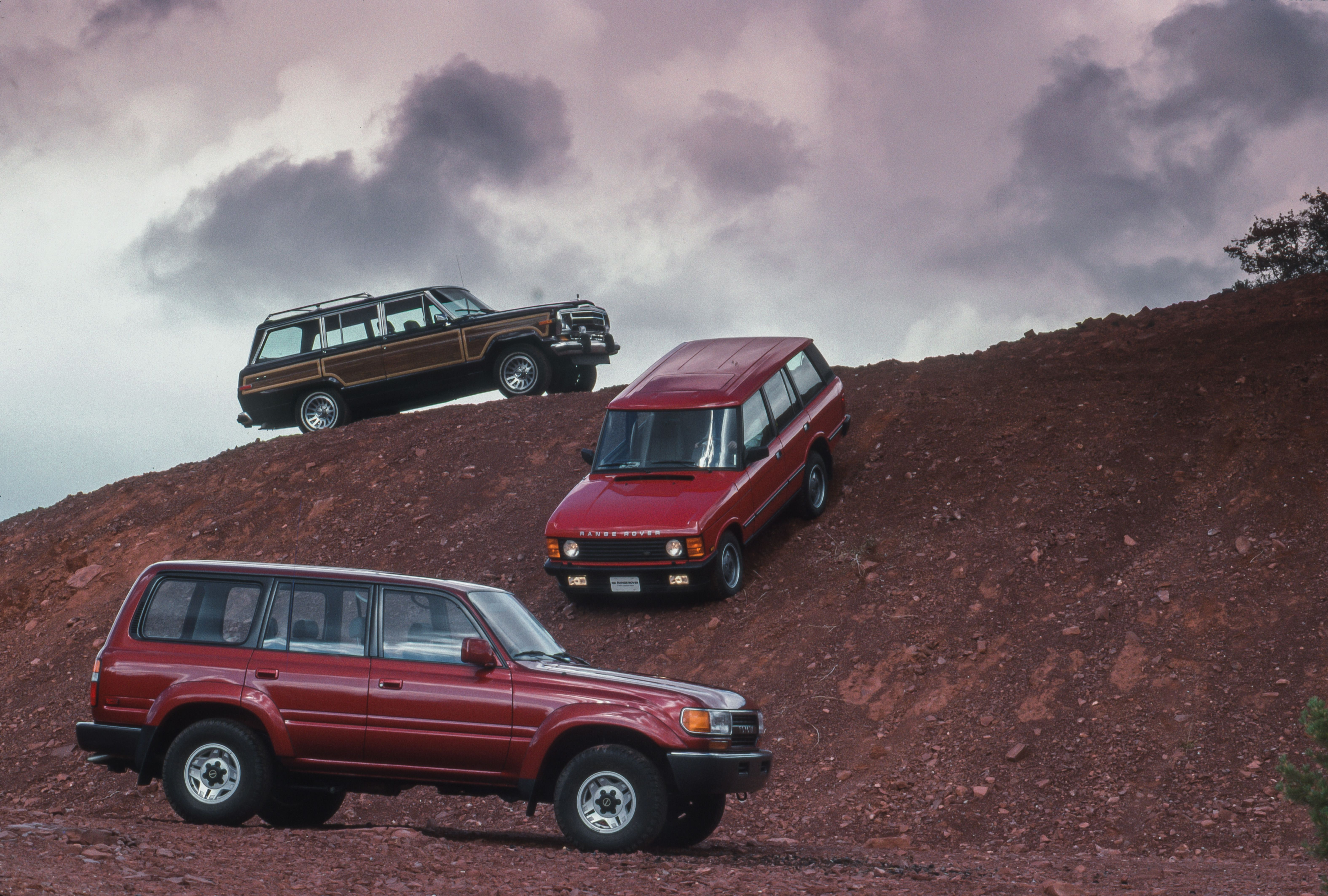 Tested 1990 Luxury Off Road Suv Comparison