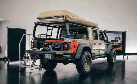 Jeep Wayout Concept for Overlanding – 2019 Moab Easter Safari