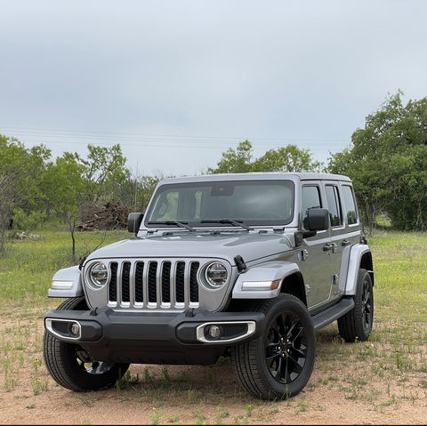 jeep wrangler 4xe phev plug in hybrid 2021