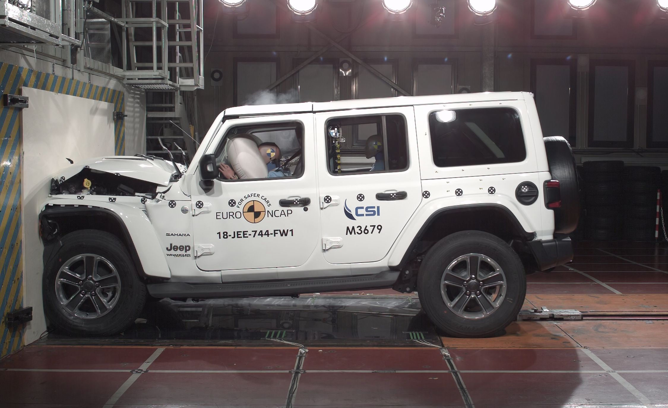 2019 Jeep Wrangler Crash Test Euro Ncap Gives Only One Star