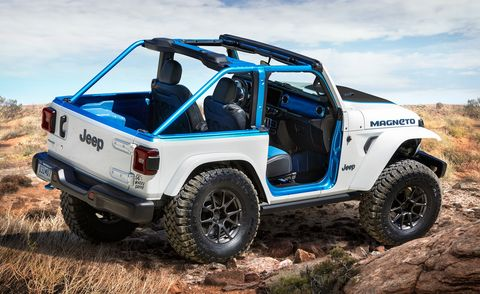 jeep wrangler magneto bev concept