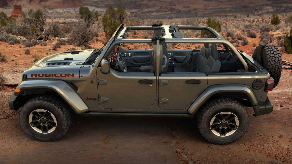 El Jeep Wrangler ya puede lucir este formato de puerta baja gracias a Mopar y JPP