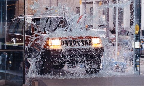 Vehicle, Car, Winter, Automotive exterior, Snow, Glass, City,