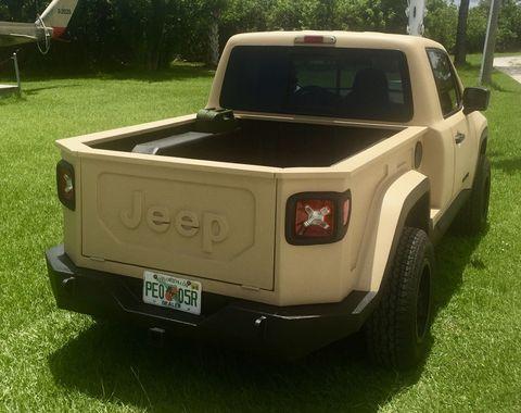 Jeep Renegade Pickup Conversion Renegade Pickup Pictures