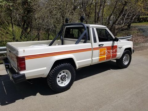 This Jeep Comanche Survivor Can Be Your Perfect 1980s