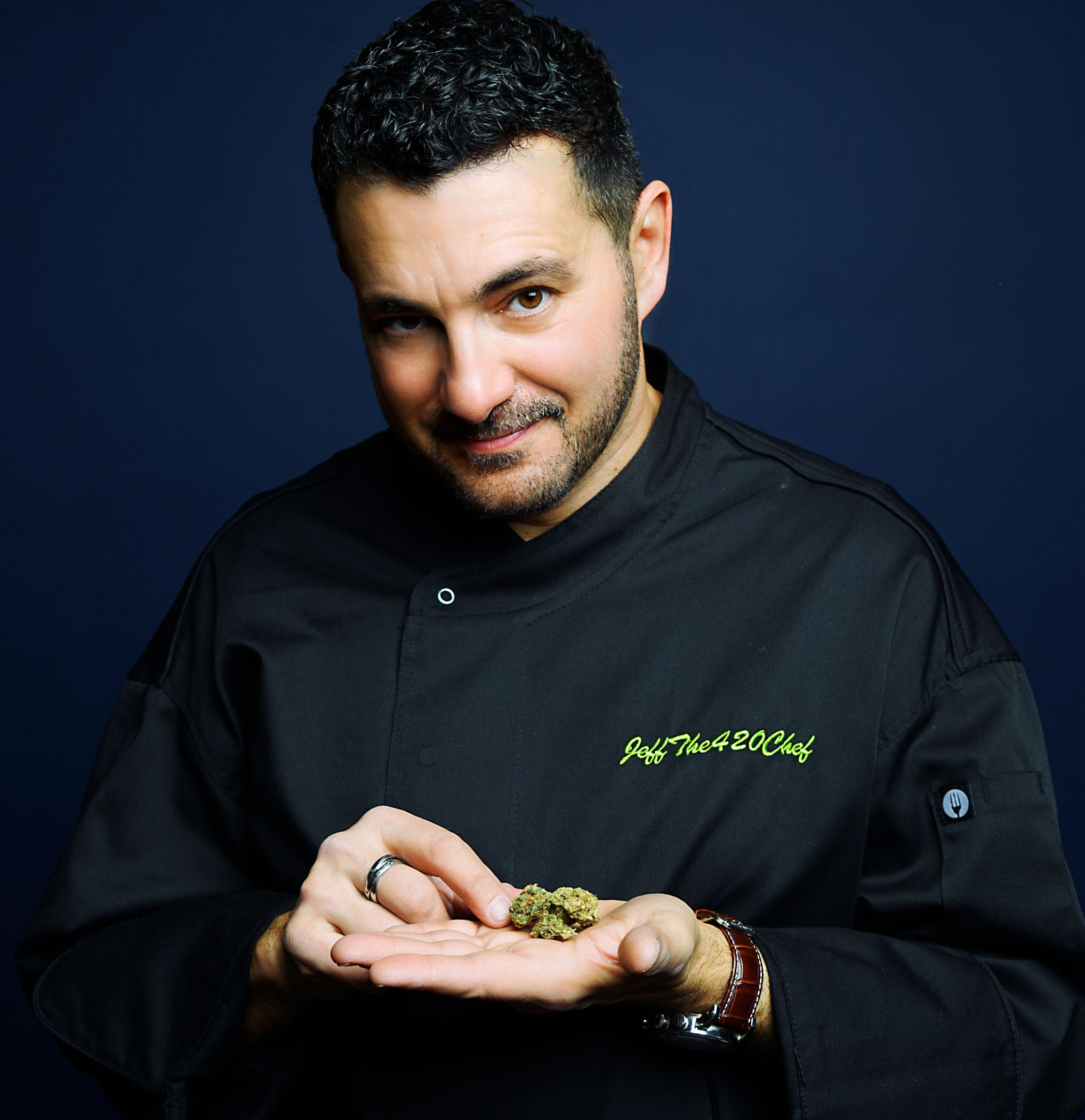 Jeff Danzer, aka, Jeff the 420 Chef, is a self-taught culinarian who created a unique process of preparing cannabis for cooking. Courtesy of Joseph Viles