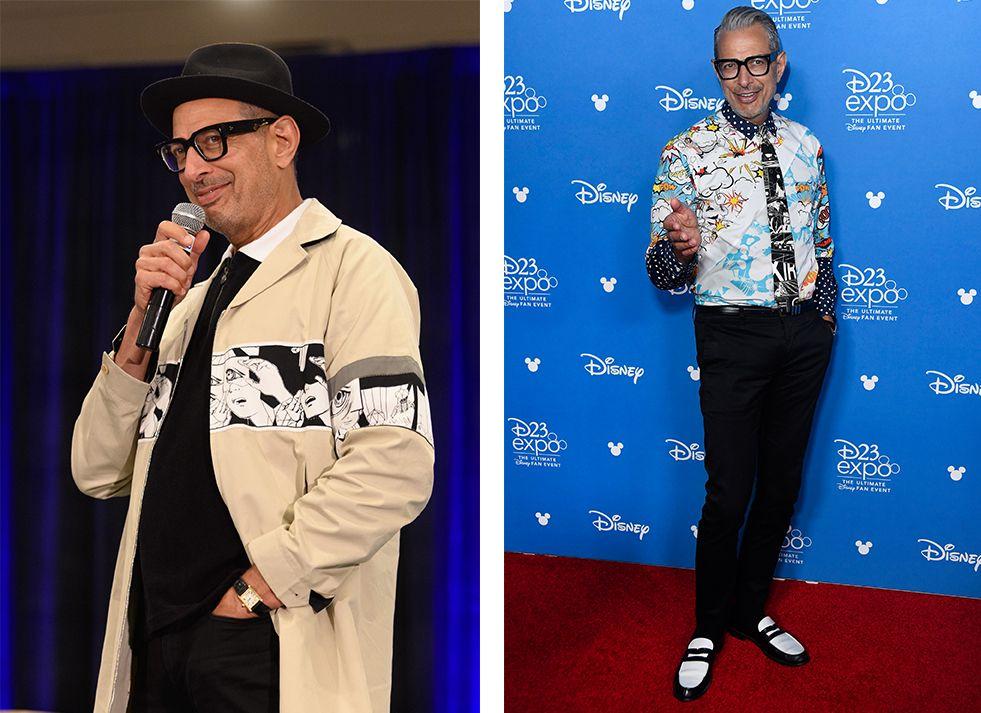 Pulling Off The Cartoon Trend, The Jeff Goldblum Way