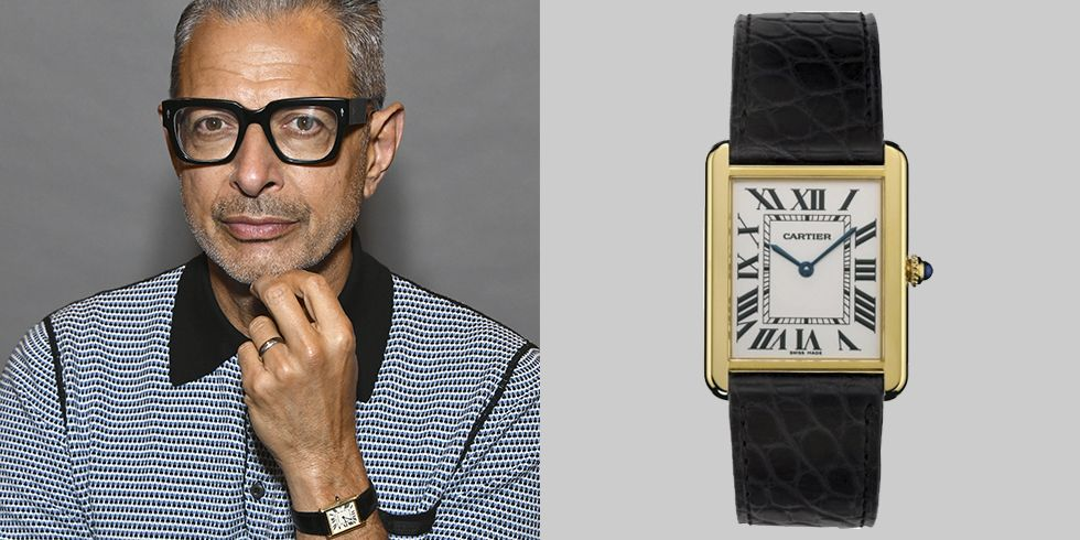 Jeff Goldblum's Cartier Will Stand The Test Of Time