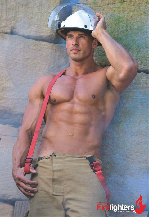 2018 Australian Firefighters Calendars  Shirtless -4085