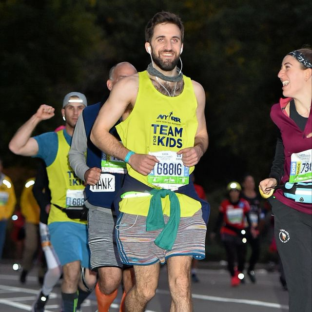 jeff kaplan runs new york city marathon after brain injury tbi