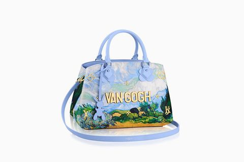 Bag, Luggage and bags, Shoulder bag, Aqua, Label, Tote bag, Fruit, Strap,