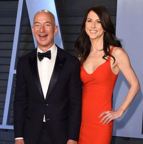 MacKenzie Bezos and Amazon founder Jeff Bezos