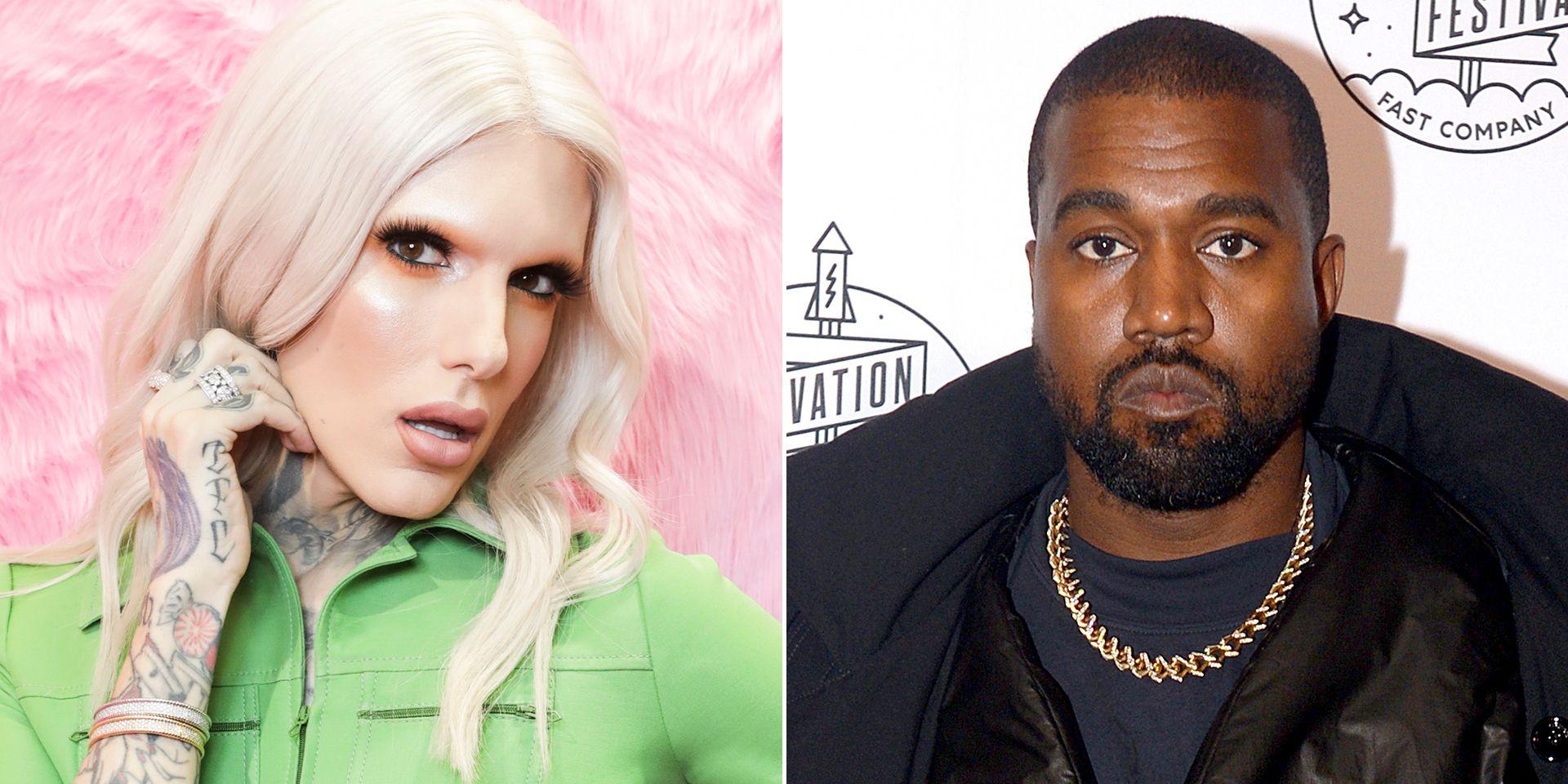Jeffree Star References Kanye West Affair Rumors Amid Divorce Reports