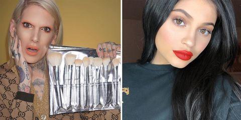Lip, Hair, Face, Eyebrow, Lipstick, Nose, Skin, Beauty, Red, Cheek,