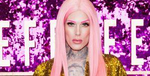 jeffree star pink hair