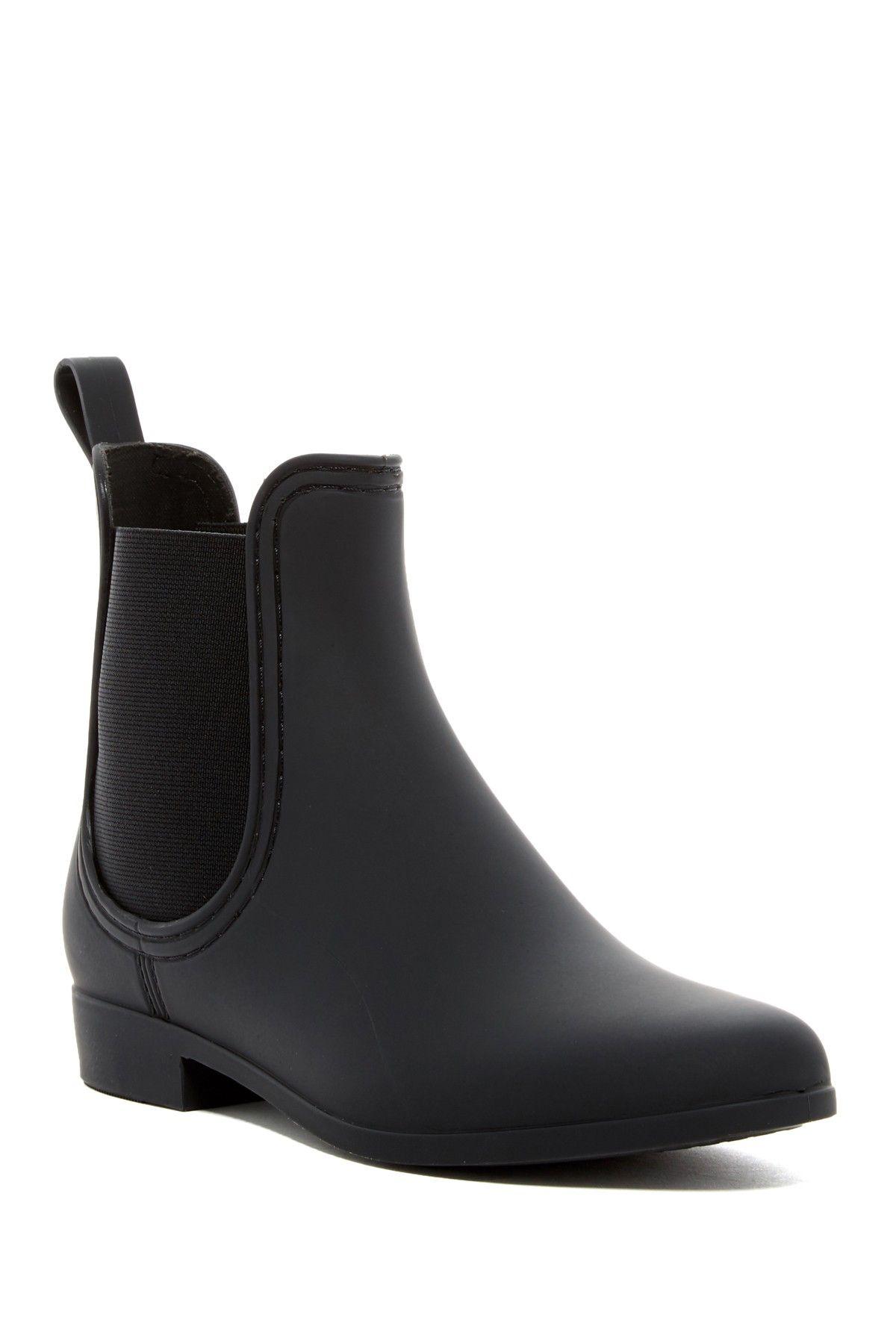 Fall Boots - Jeffrey Campbell Forecast Chelsea Waterproof Rain Boot