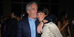 Jeffrey Epstein en Ghislaine Maxwell