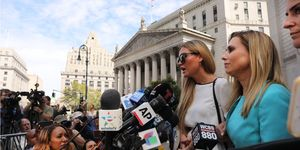 Jeffrey Epstein Accusers Attend Court Hearing In New York
