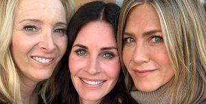 Jennifer Aniston, Courteney Cox,Lisa Kudrow