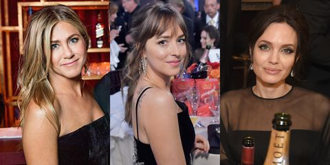 Jennifer Aniston, Dakota Johnson and Angelina Jolie