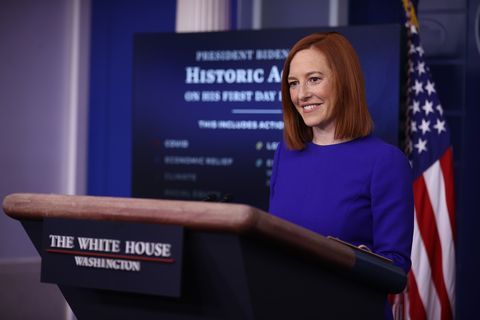 jen psaki white house press secretary biden administration