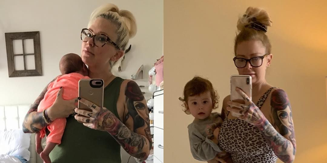 Jenna Jameson Shared A New Keto Diet Before And After Picture