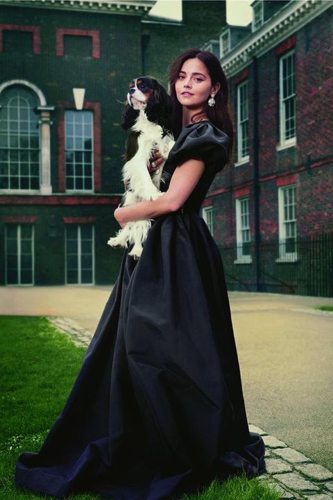 a72d9fee99 Jenna Coleman shot at Kensington Palace for Victoria - Harper's ...