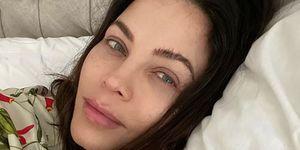 Jenna Dewan no-makeup selfie Instagram