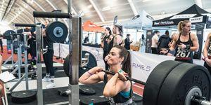 london's fittest women