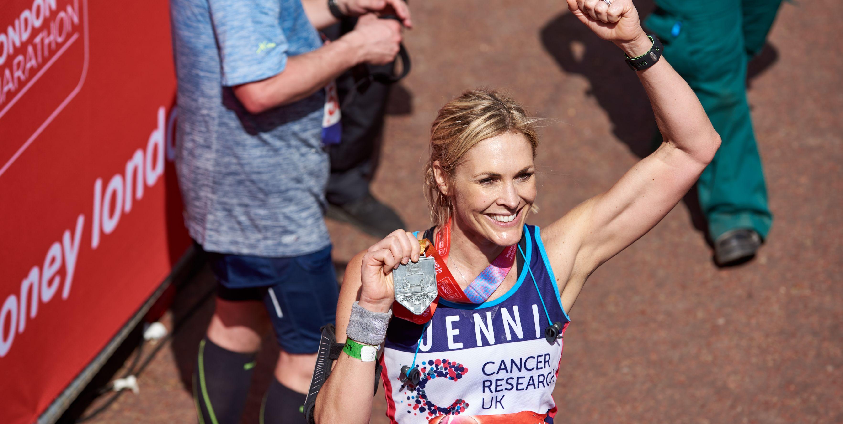 celebrities running london marathon 2019