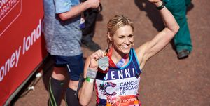 celebrities running london marathon 2019