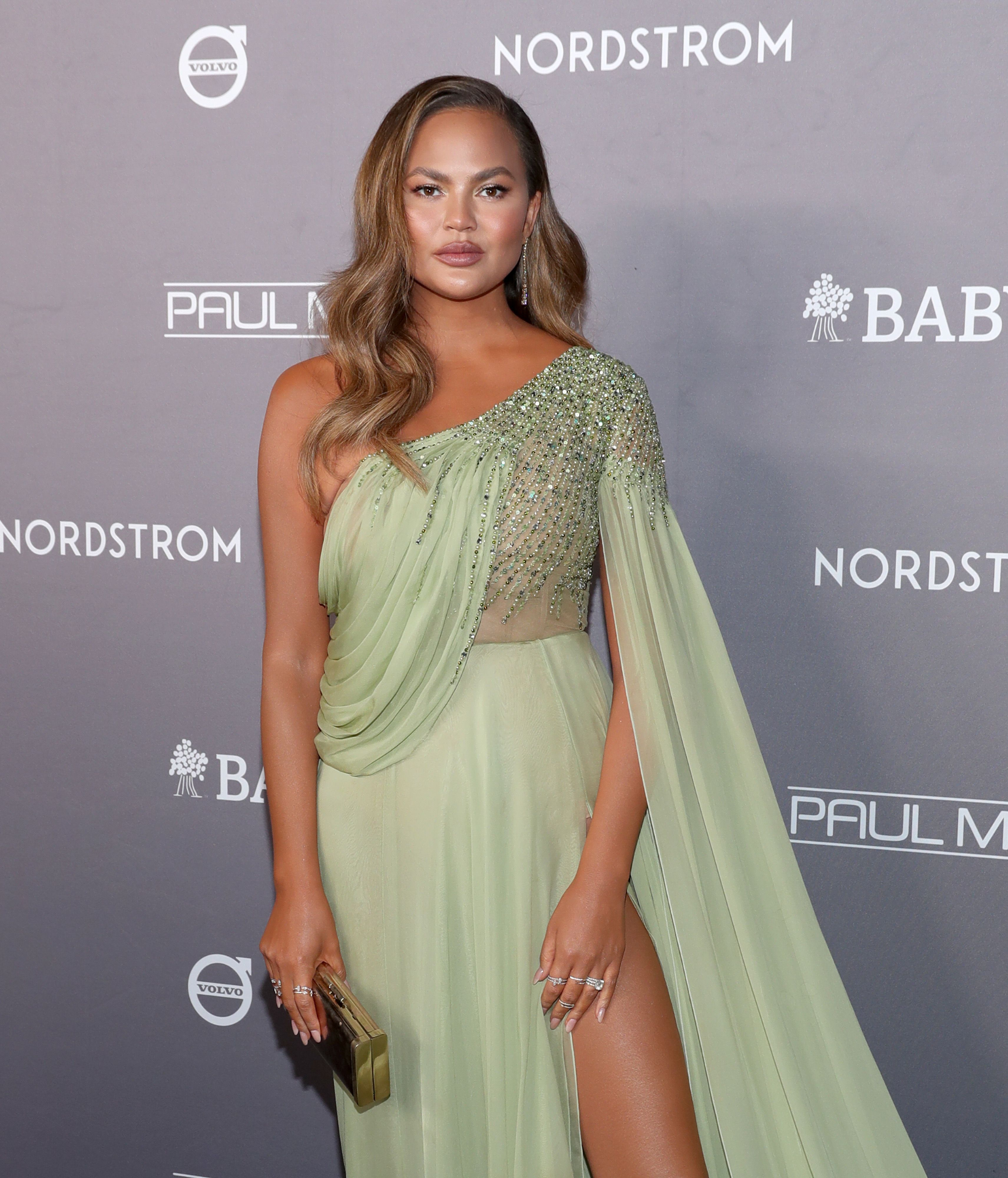 "Chrissy Teigen Says She's in a ""Grief Depression Hole"" Following Baby Loss"