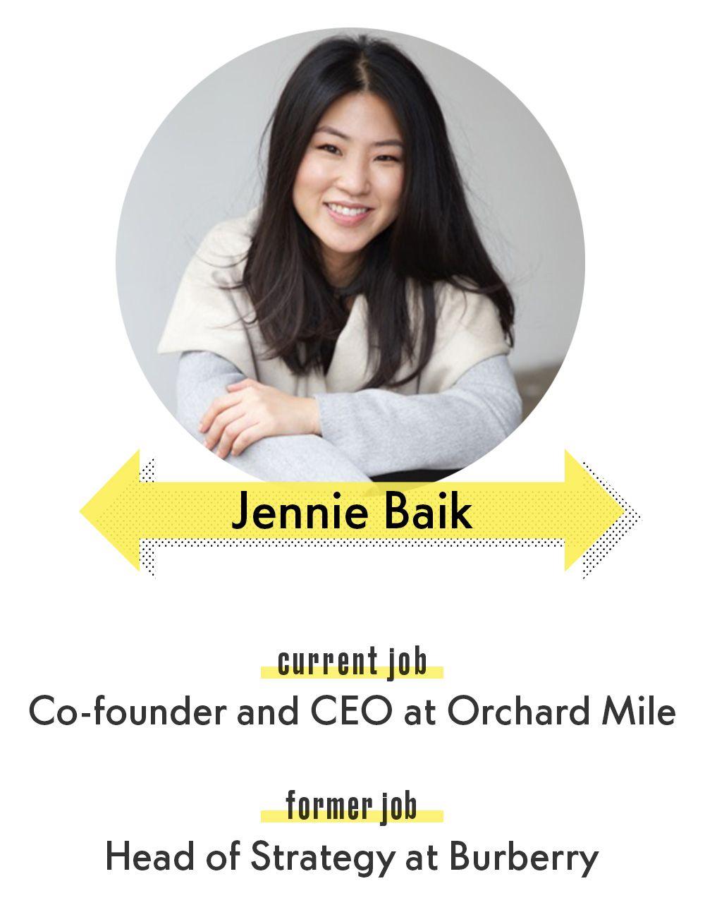 Jennie Baik Orchard Mile