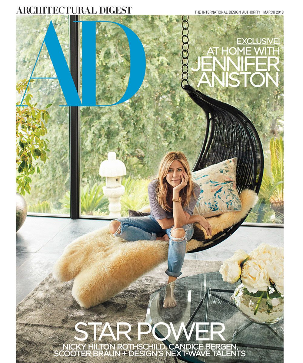 Jennifer Aniston Architectural Digest cover