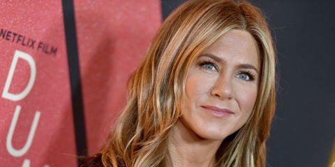 Jennifer Aniston hair transformation
