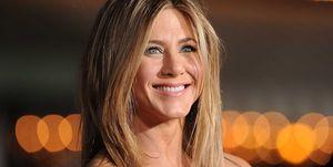 Jennifer Aniston tijdens de première van Wanderlust