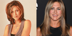 Jennifer Aniston Then and Now