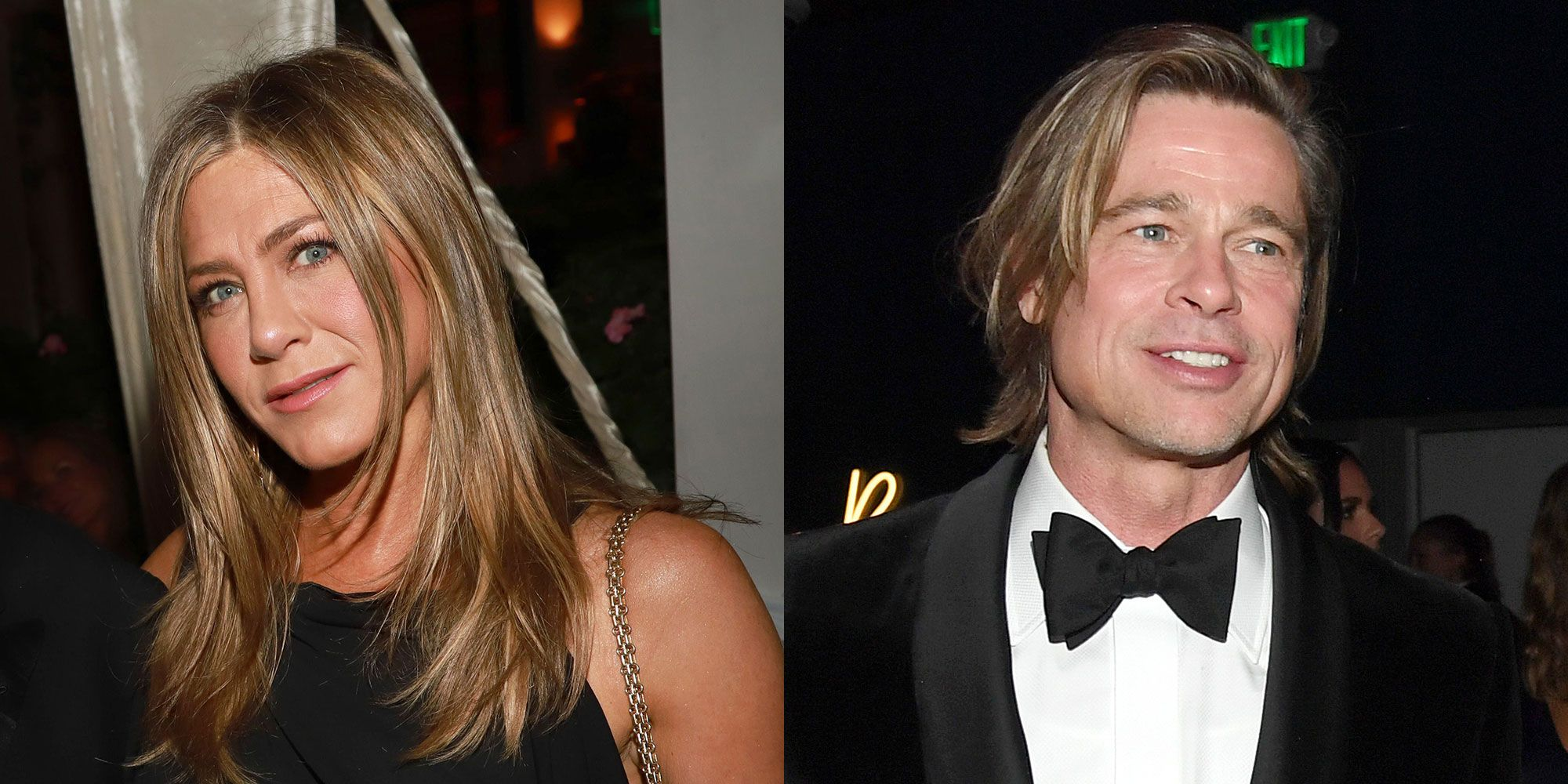 Jennifer Aniston And Brad Pitt Had Moment At Oscars 2020 Party Meeting Details