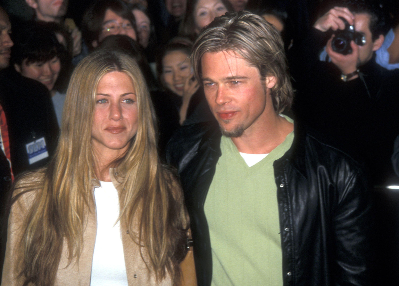 Brad Pitt ve Jennifer Aniston dosya fotoğrafları