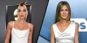 Dua Lipa, Jennifer Aniston