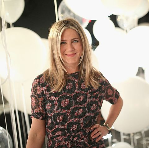 Jennifer Aniston just got super nostalgic when asked about a Friends reunion