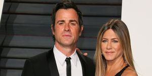 Jennifer Aniston justin theroux birthday