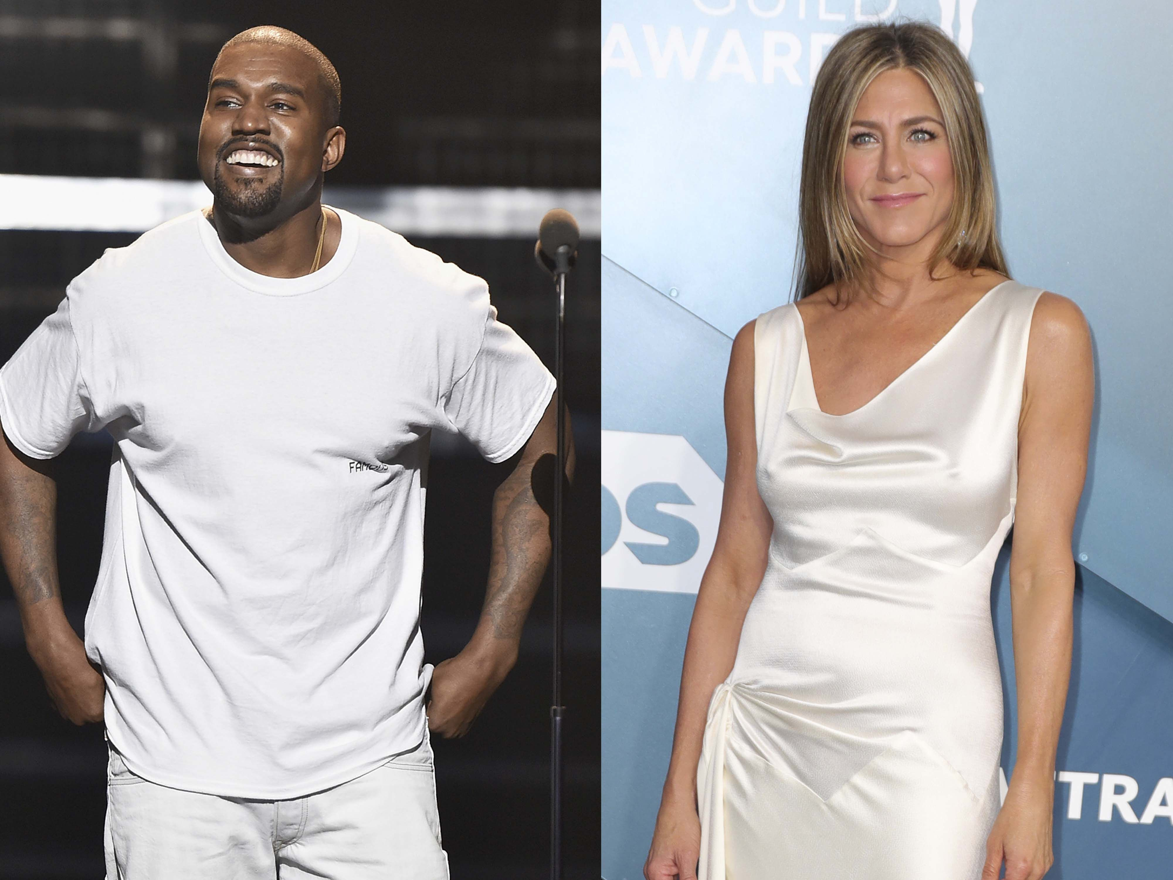 Jennifer Aniston butts heads with Kanye West over election