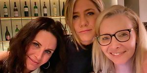 Courtney Cox, Jennifer Aniston y Lisa Kudrow