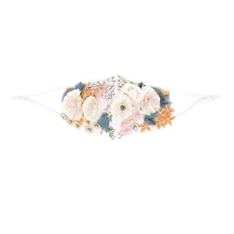 jennifer behr mondkapje met bloemenprint