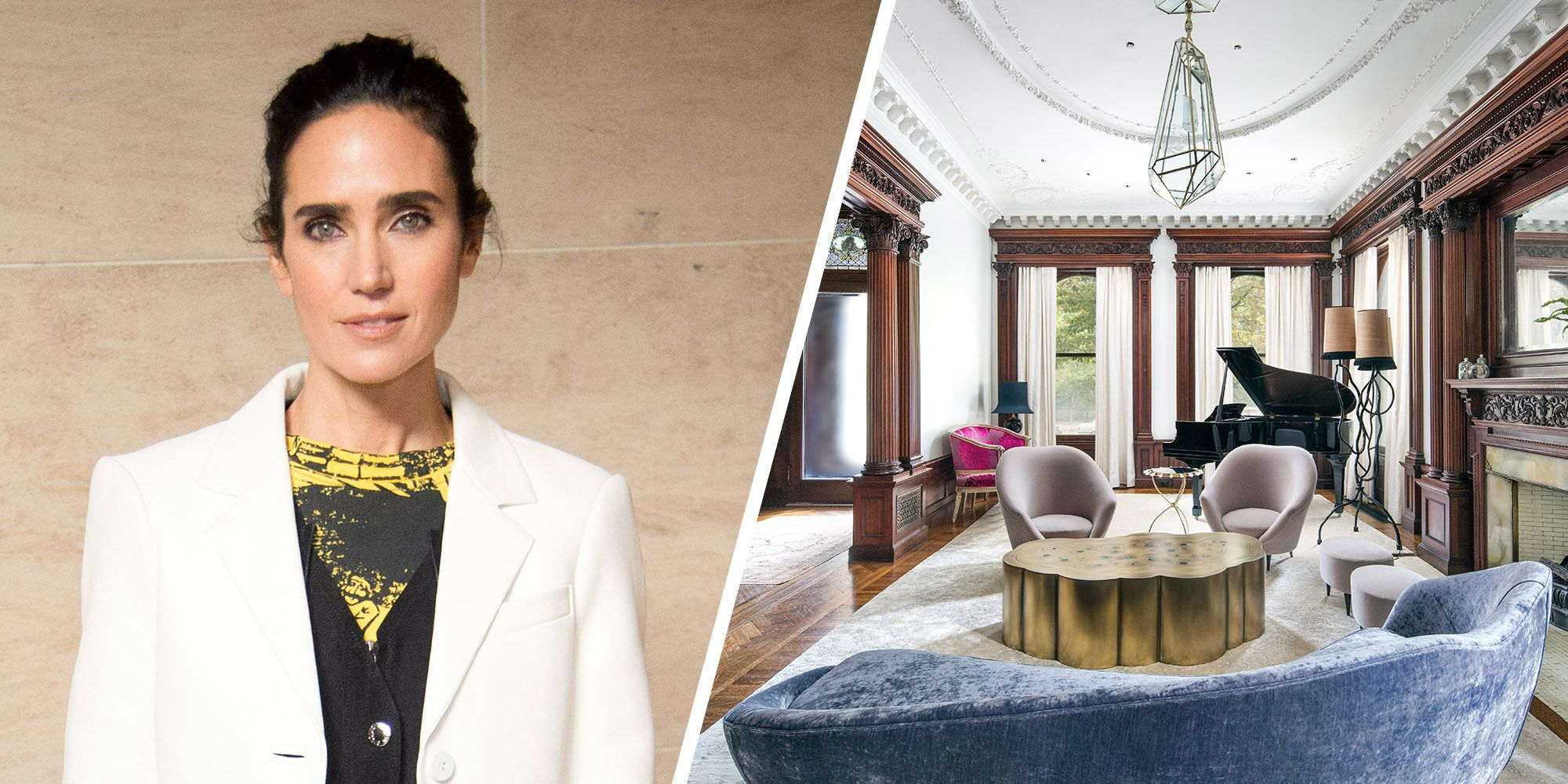 Jennifer Connelly's Former Brooklyn Mansion Is Unbelievably Huge And Full Of Character