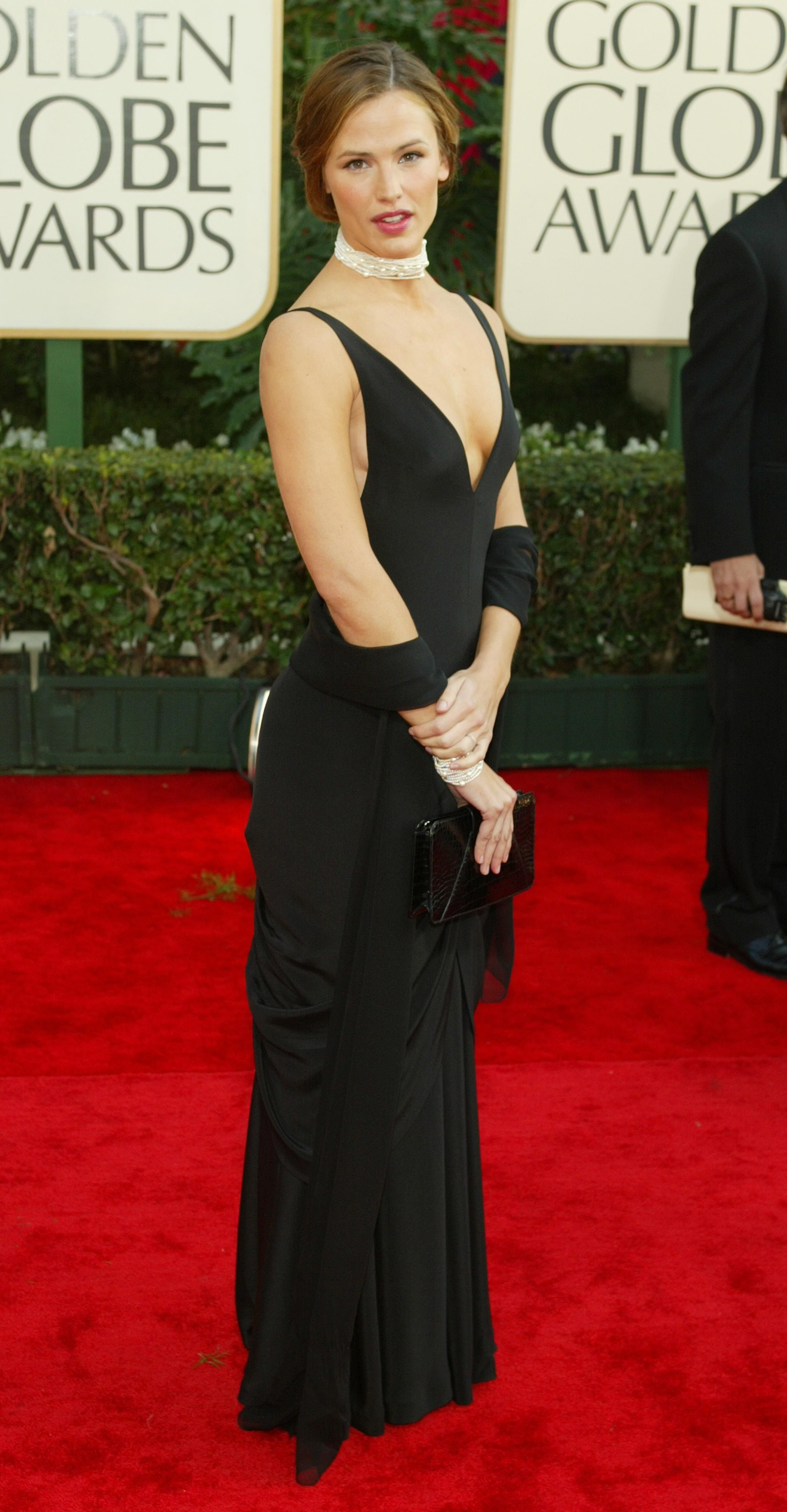 January 19, 2003 In Ralph Lauren at the 60th annual Golden Globe Awards in Beverly Hills.