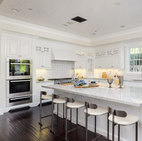 Countertop, Furniture, Room, Cabinetry, Property, Kitchen, White, Interior design, Building, Home,