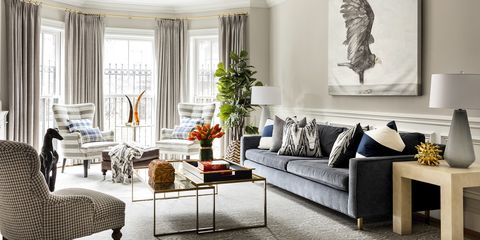 Jennifer Glickman Boston Living Room