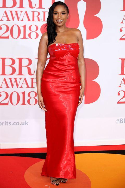 Jennifer Hudson at the Brit Awards 2018